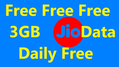 Jio Daily 3GB Data Free July 2019