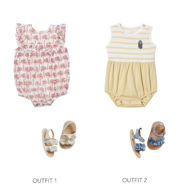 baby girl summer romper outfits