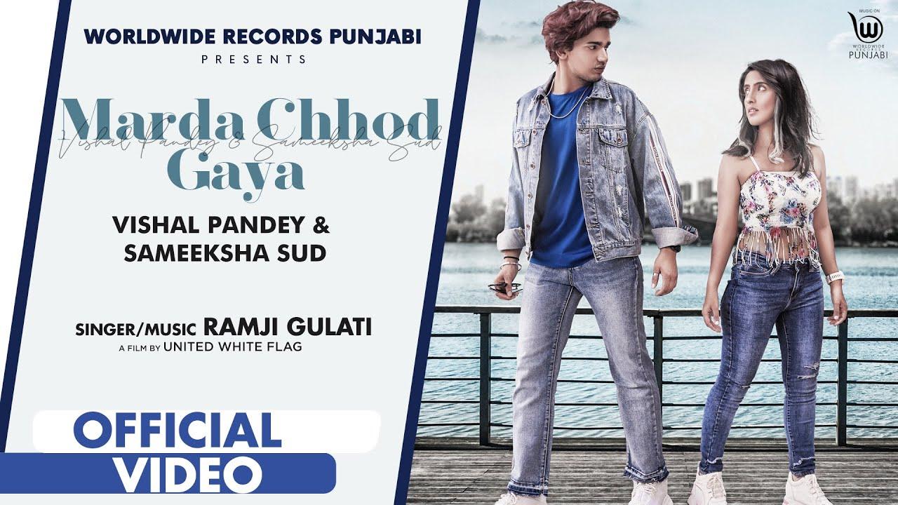 Marda Chhod Gaya Lyrics Ramji Gulati | Vishal X Sameeksha | Punjabi Song