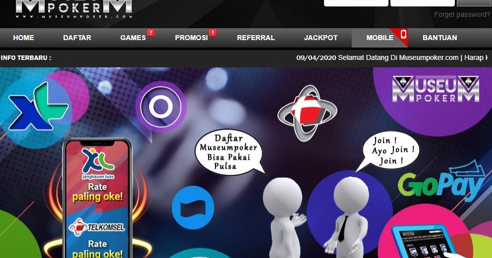 Blog Museum Poker: Daftar Situs IDN Poker Deposit Pulsa ...