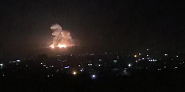 Pembalasan, AS Bombardir Lokasi Militan Pro-Iran Di Suriah