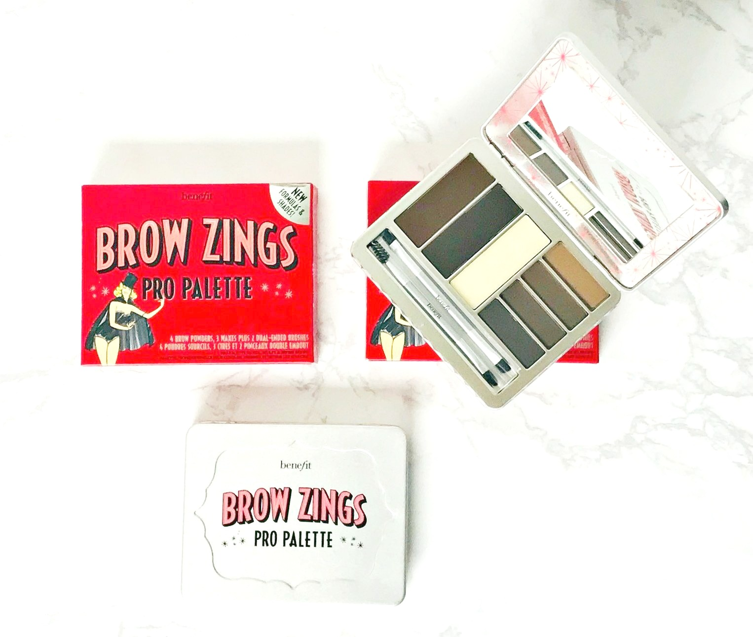 Benefit Brow Zings Pro Palette Review, Giveaway,