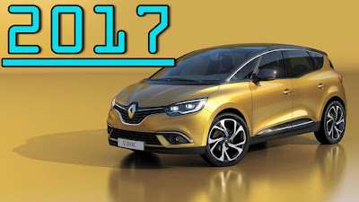 2017 Renault Grand Scenic MPV wallpapers