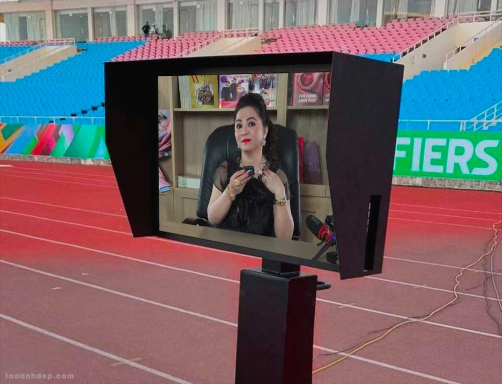 Ghép ảnh vào màn hình công nghệ VAR