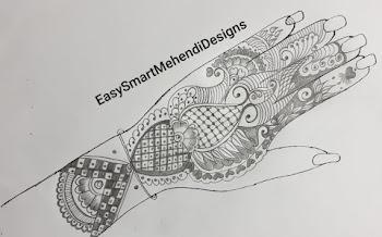 Special for Navratri Navmi hand design
