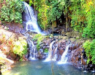 Air Terjun Taman Sari di Desa Bakbakan Gianyar