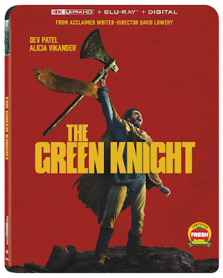 The Green Knight Arrives on 4K 10/12