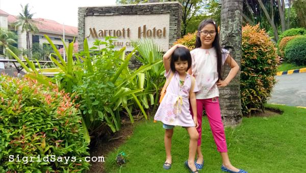 Cebu City Marriott Hotel family overnight
