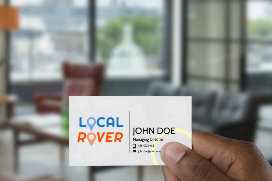 Local Rover Mock Card