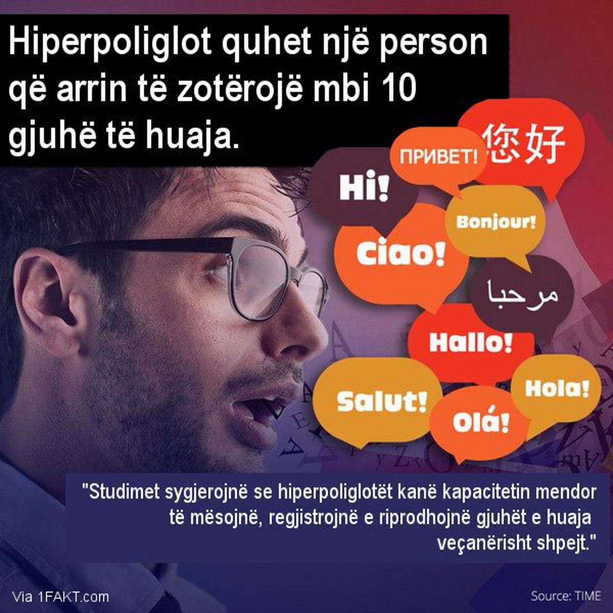 E Dini Ju Kush Janë Hiperpoliglotët?