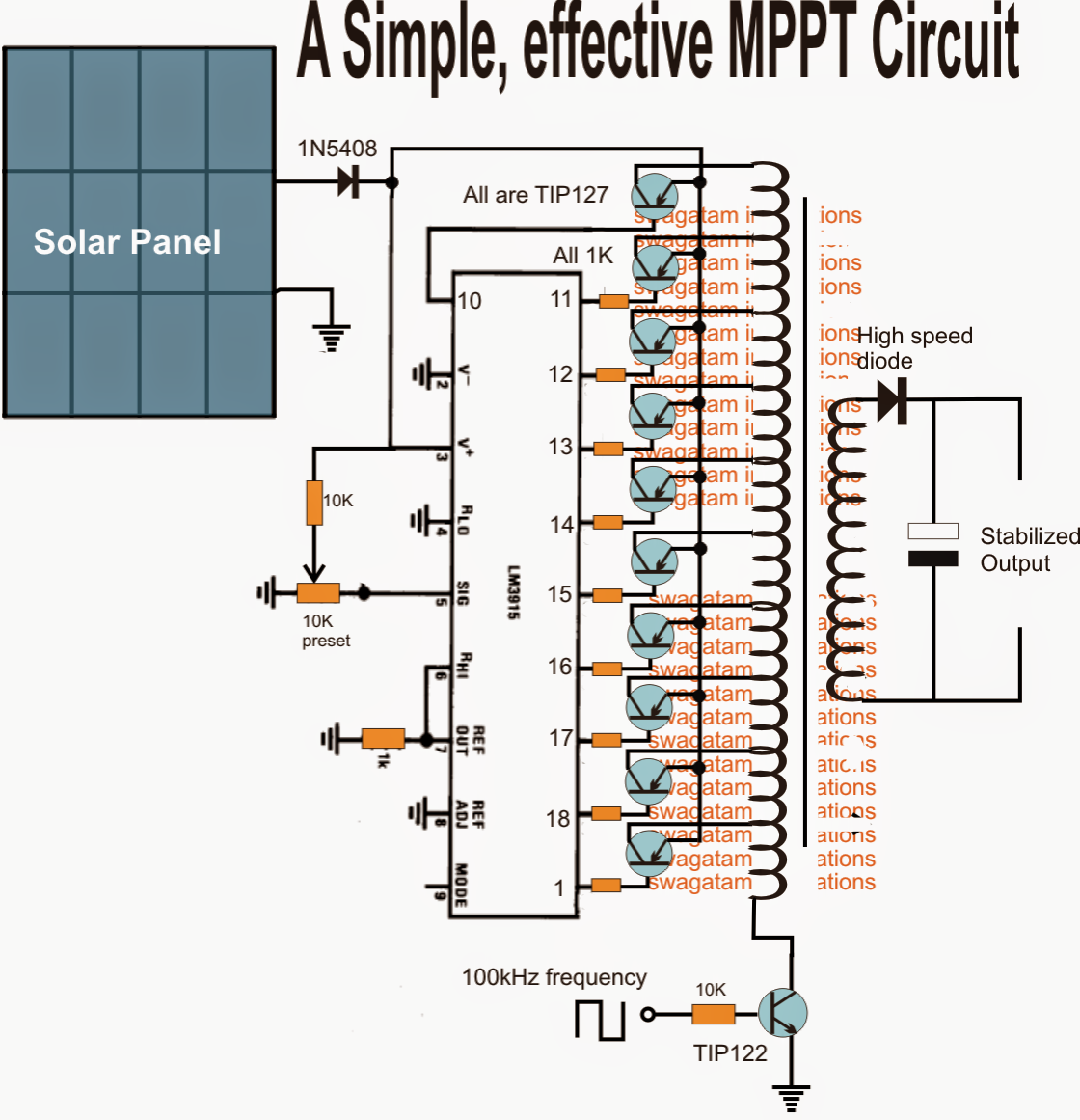 solar mppt circuit poor s maximum power point tracker circuit