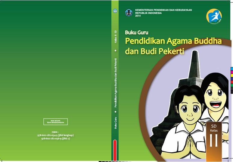 Download Gratis Buku Guru Pendidikan Agama Budha Dan Budi Pekerti Kelas 2 SD Kurikulum 2013 Format PDF