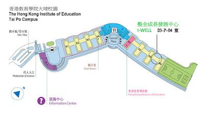 I Well Centre 整全成長發展中心地圖