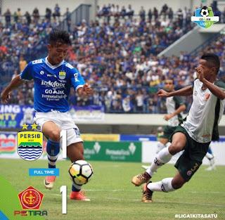 Persib Ditahan Imbang PS Tira 1-1 di Laga Perdana Liga 1 2018