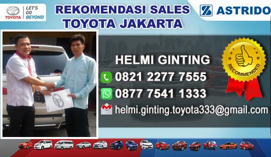 Rekomendasi Sales Toyota Kalimalang, Jakarta Timur