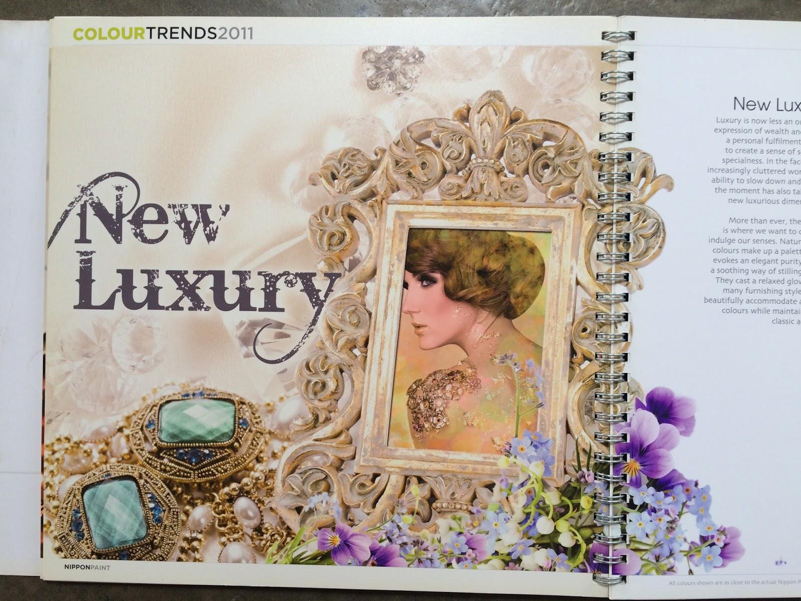 Parse906 Nippon Paint Color Chart 2011 Trend Wallpaper Stiker Dinding Lux 5 23pr