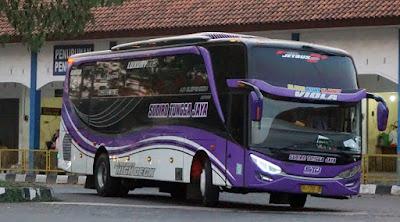 Foto Bus Sudiro Tungga Jaya Viola