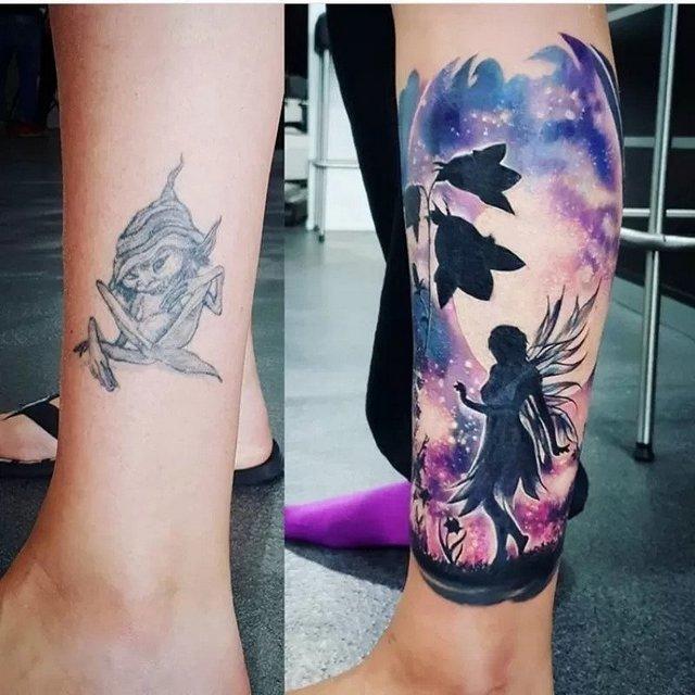 changing tattoo design