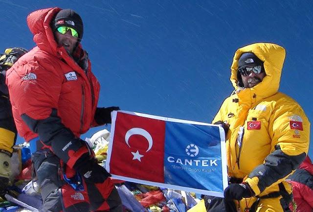 türk ekibi zirvede