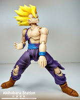 "Review del S.H.Figuarts ""Super Saiyan Gohan Battle Damage"" de Tamashii Nations."