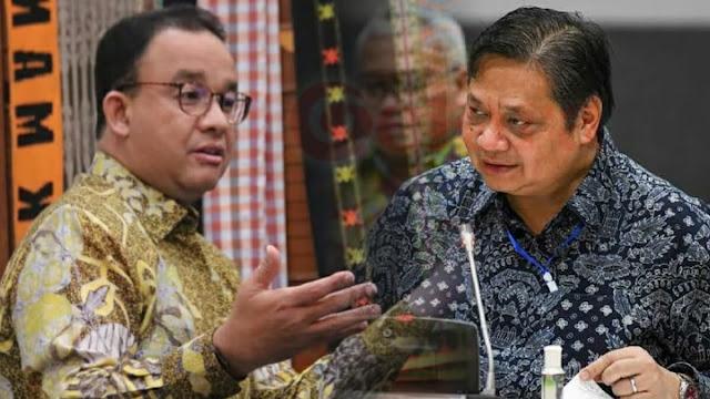 Anies Diserang Airlangga, Rizal Ramli: Jokowi Itu Presiden Apa Bukan?