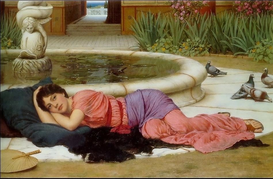 John William Godward 1861-1922 | British Victorian Neo-Classicist painter