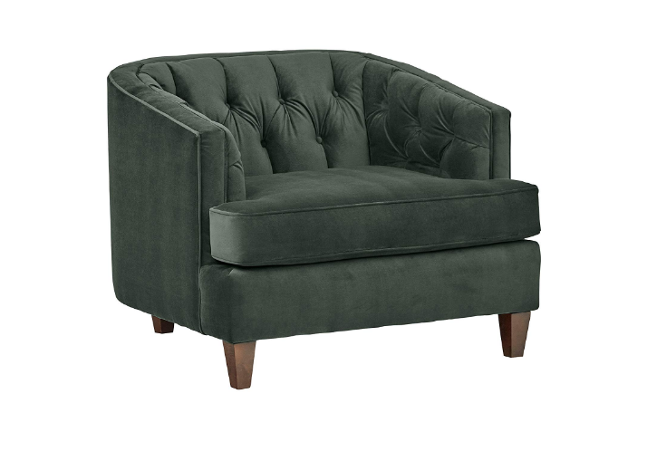 Stone and Beam Leila Tufted Chair