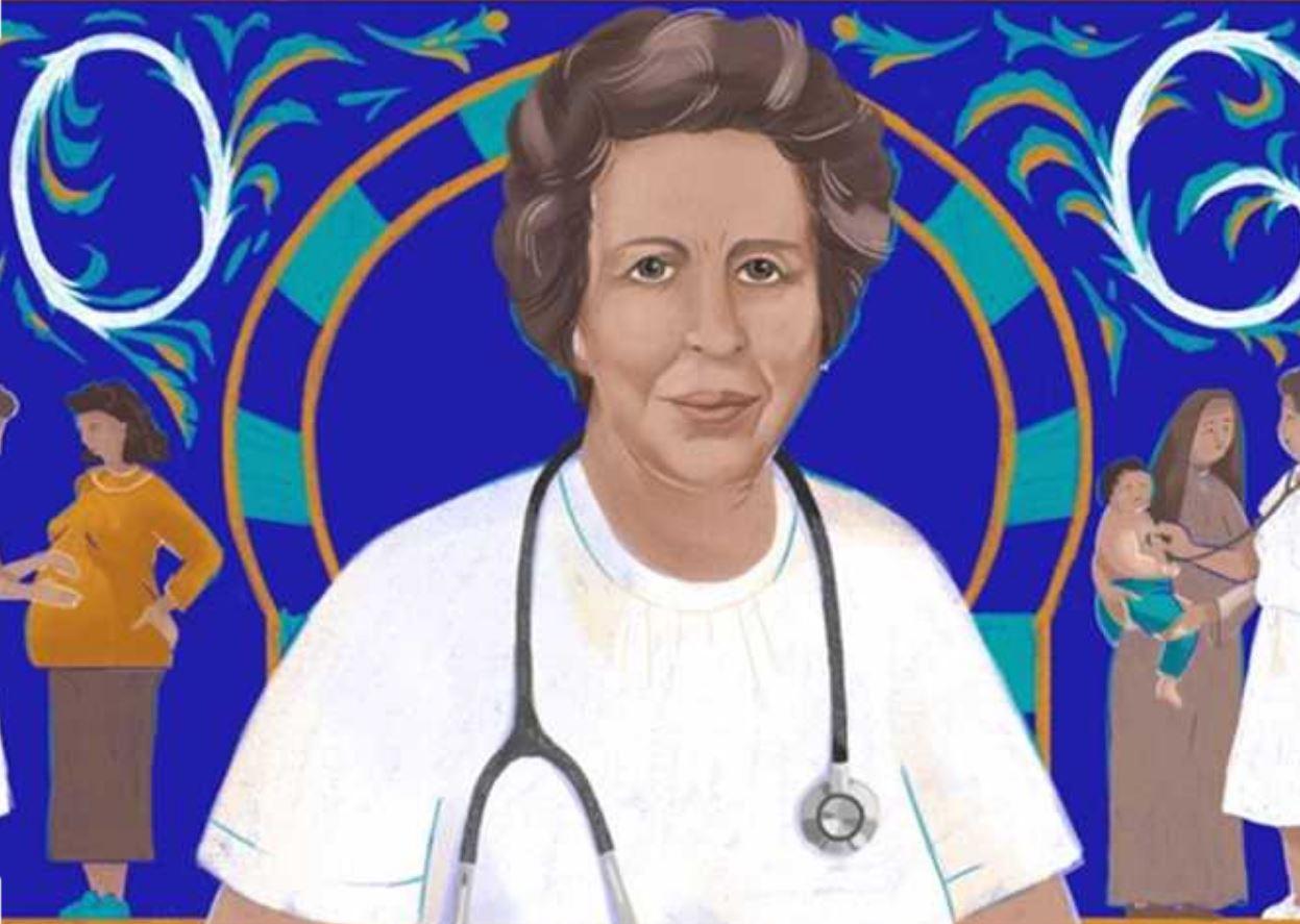 جوجل يحتفل بطبيبة الفقراء..توحيدة بن الشيخ