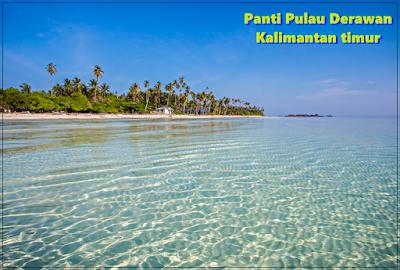 Pantai derawan Kalimantan