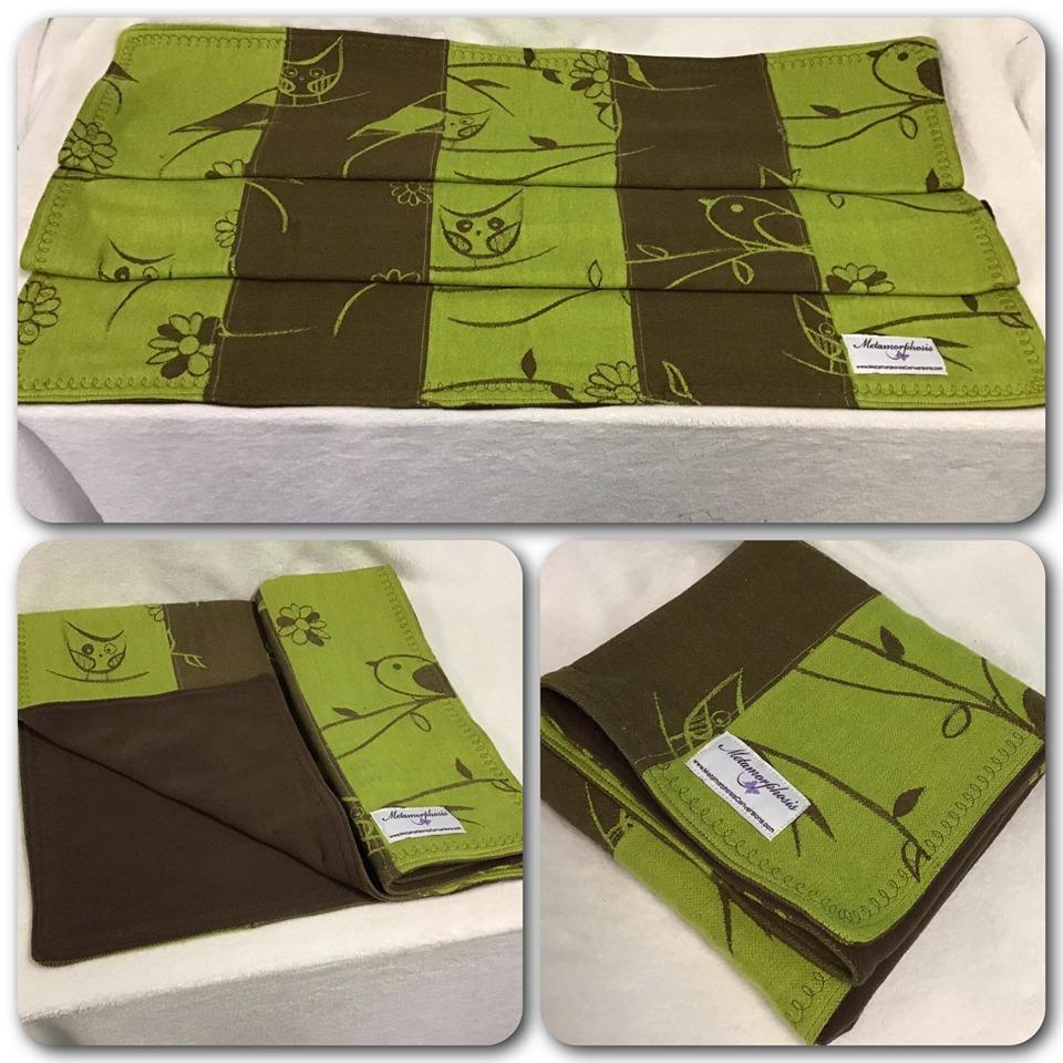 Kokadi Birds baby blanket
