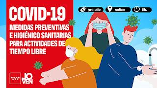 Curso covid Comunidad de Madrid