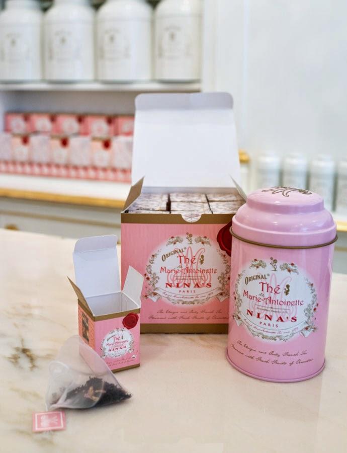 Nina's Paris Tea Shops