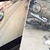 (Video) Ustaz melambung dirempuh kereta
