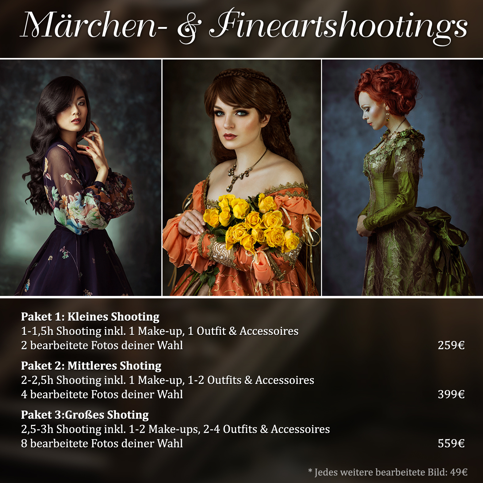 Märchen Fantasy Beauty Fineart Shooting
