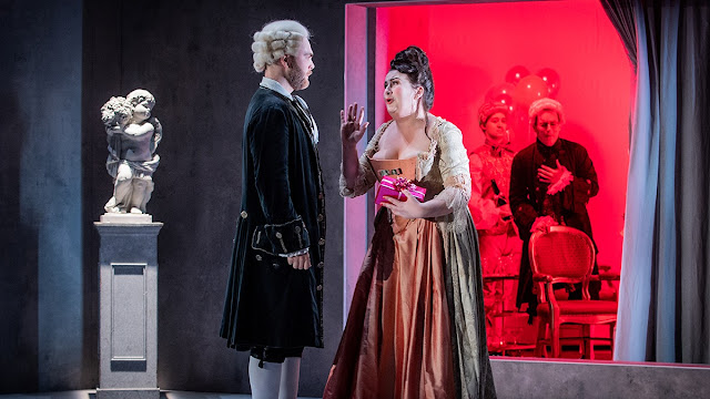 Massenet: Chérubin - Niall Anderson, Clare Tunney - Royal Academy Opera (Photo Robert Workman)