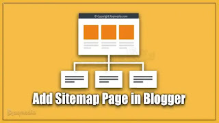 Create HTML Sitemap Page In Blogger