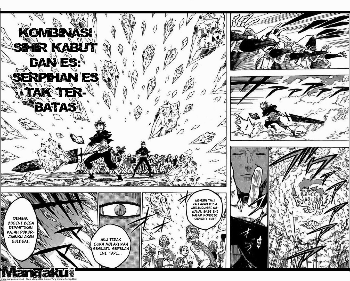 Black Clover chapter 7 : Monster Bahasa Indonesia