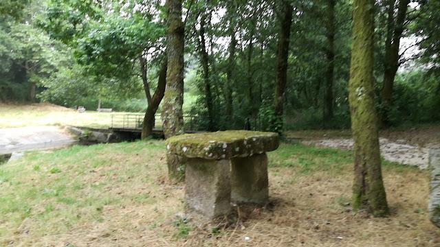 Mesa de pedra