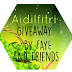 AIDILFITRI GIVEAWAY BY FAYE AND FRIENDS