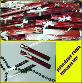 order souvenir pernikahan pisau
