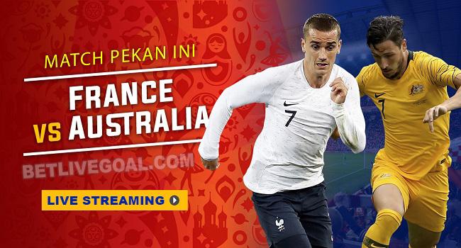 lvie streaming prancis vs australia 16 juni 2018