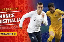 Live Streaming Prancis vs Australia 16 Juni 2018