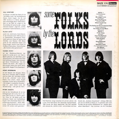 The Lords - Some Folks By