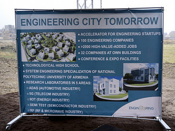 Armenia seguirá con la construcción de Engineering City