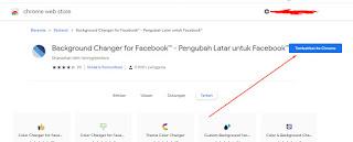 Cara Ganti Background Facebook dengan background changer facebook