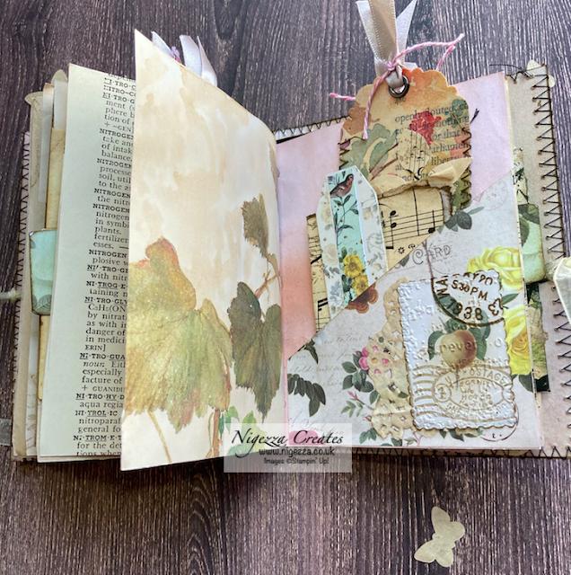 Mini Botanical Junk Journal Flip Through