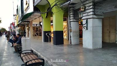 Jalan Malioboro Sepi Pedagang Di Selasa Wage