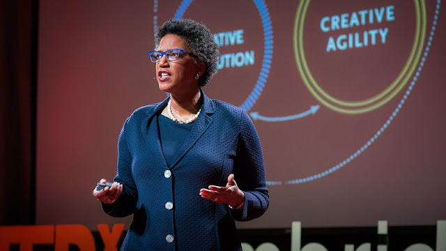 """ليندا هيل Linda Hill"""": قادة المنظمات المبتكرة يسهلون تبادل الأفكار الملهمة"""