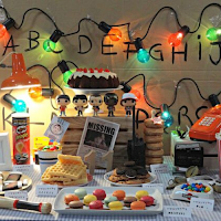stranger things halloween party candy bar