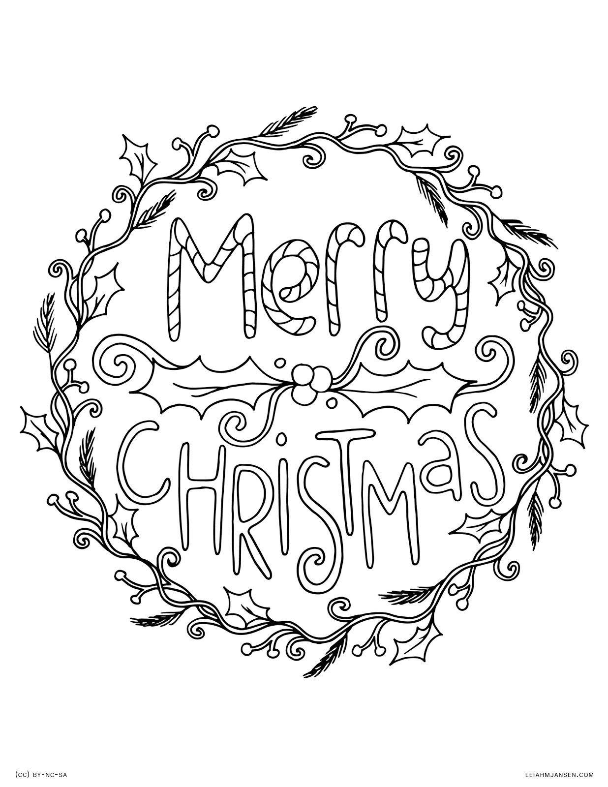 Christmas Coloring Pages Merry With Make This Page The Best - Merry-christmas-words-coloring-pages